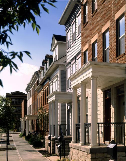 City West, Laurel Homes I, front with columns_jpg