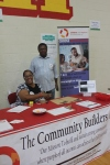 TCB Cincinnati team members sharing info at the Health Fair