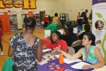 Health Fair participants received information on things like Head Start and early education programs